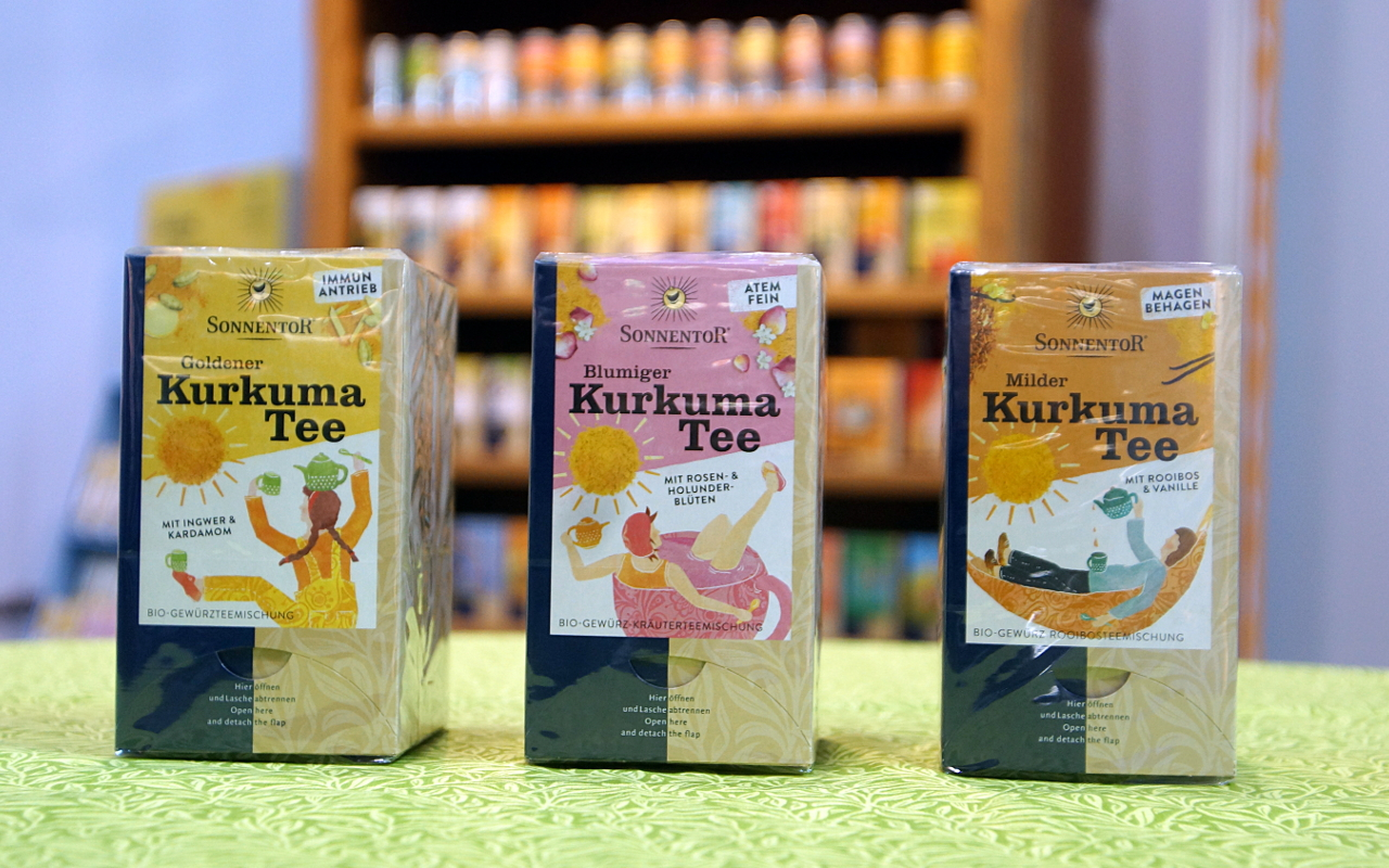 Kurkuma-Tee von Sonnentor